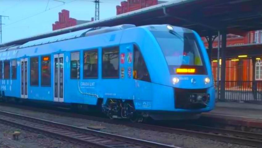În Germania, au fost lansate primele trenuri din lume care folosesc drept combustibil apa