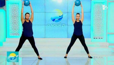 Video! Set de exerciții pentru extinderea și tonifierea mușchilor