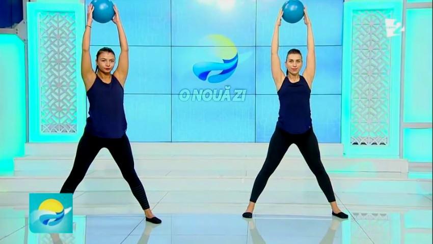 Foto: Video! Set de exerciții pentru extinderea și tonifierea mușchilor