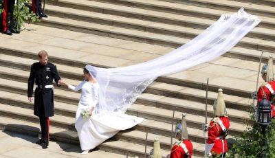 Meghan Markle a dezvăluit detaliul ascuns în rochia de mireasă, ca să îi poarte noroc în ziua nunții