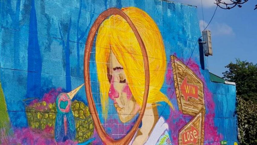 Foto: În Chișinău a apărut o nouă pictură murală. Foto