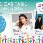 Foto: Prezentatoarea TV Felicia Sîrbu își vinde hainele la un târg caritabil