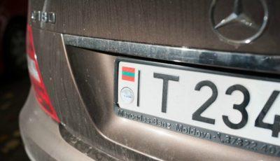 Maşinile din Transnistria, cu numere neutre vor fi admise în traficul internațional