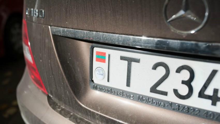 Foto: Maşinile din Transnistria, cu numere neutre vor fi admise în traficul internațional