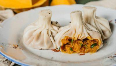 Khinkali cu dovleac: cei mai delicioși colțunași turcești