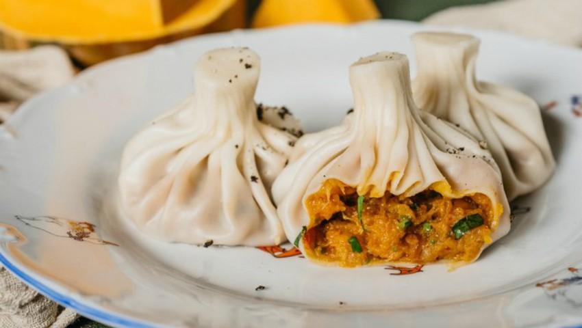 Foto: Khinkali cu dovleac: cei mai delicioși colțunași turcești