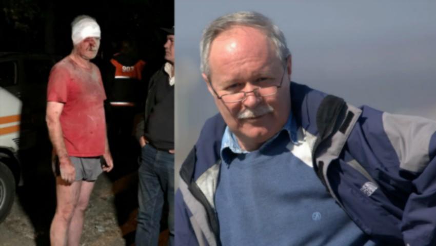 Foto: Un bărbat care a supraviețuit miraculos în urma exploziei din Capitală, are nevoie de ajutor