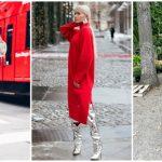 Foto: Despre principalele tendințe în modă: 15 idei cum să porți o rochie – pulover în această toamnă