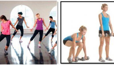 Cinci exerciții care te scapă de burtă