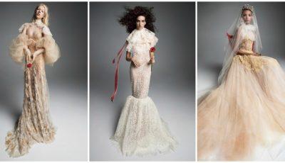 O colecție de rochii de mireasă uimitoare, de la designerul Vera Wang