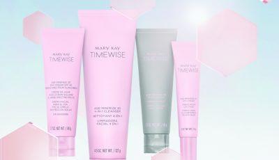 """Inovație de la Mary Kay ®: """"Setul fermecat"""" TIMEWISE®3D™ pentru o piele perfectă în doar 4 săptămâni"""