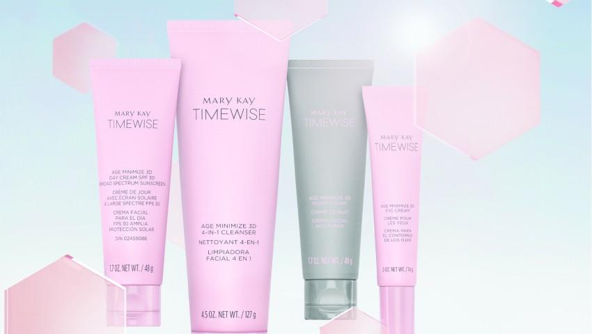"""Foto: Inovație de la Mary Kay ®: """"Setul fermecat"""" TIMEWISE®3D™ pentru o piele perfectă în doar 4 săptămâni"""