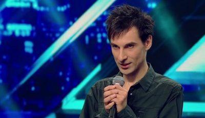 """Moment fără precedent la """"X Factor""""! Moldoveanul Sasha Bognibov a părăsit scena înainte de a cânta"""
