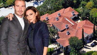 David şi Victoria Beckham și-au vândut locuința din Los Angeles. Cât au luat pe ea?