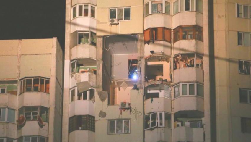 Foto: Explozia din sectorul Rîșcani: s-a stabilit la ce etaj s-a produs deflagrația și cine locuiește în apartamentul cu pricina