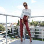 Foto: Olesea Olteanu, într-o ținută de inspirație în stilul Lady Gaga