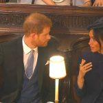 Foto: Video. Meghan Markle şi Prinţul Harry s-au certat în public la nunta Prinţesei Eugenie