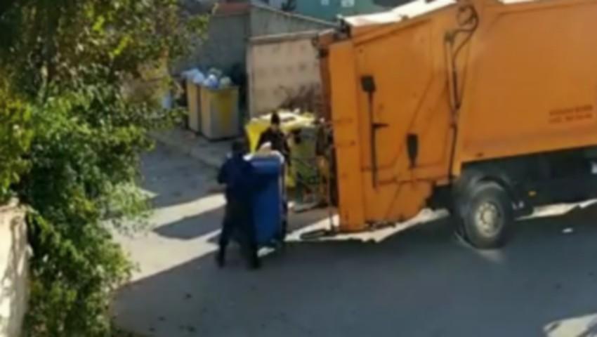 """,,Sortarea gunoiului"""" în capitală. Video-ul care i-a înfuriat pe internauți"""