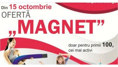 """Doar la Unica Sport Elat, OFERTĂ """"MAGNET"""" 1=3!"""