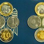 Foto: Banca Națională a scos la vânzare seturi de monetărie cu cele patru monede noi de 1, 2, 5 și 10 lei