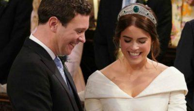 Vezi ce rochie de mireasă a purtat verișoara prinților William și Harry!