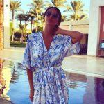 Foto: Vacanță în Egipt! Designerul Elena Bivol și-a etalat silueta de zeiță în costum de baie