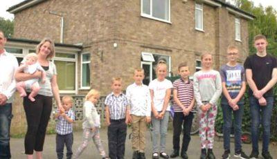 În ce condiții trăiește o familie cu zece copii, considerată una dintre cele mai sărace în Marea Britanie?