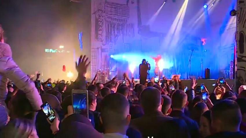 Moldovenii s-au distrat la concertul organizat în centrul capitalei, de Hramul Chișinăului