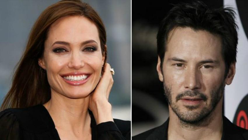 Angelina Jolie și Keanu Reeves, cel mai nou cuplu de la Hollywood?