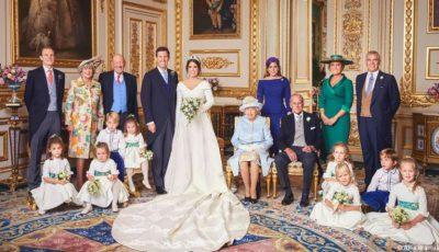Fotografiile oficiale de la nunta Prințesei Eugenie!