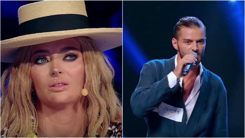 "Foto: Moldoveanul Johnny Barbu a făcut senzație la X Factor, cu melodia ""Ochii tăi"" de Holograf"