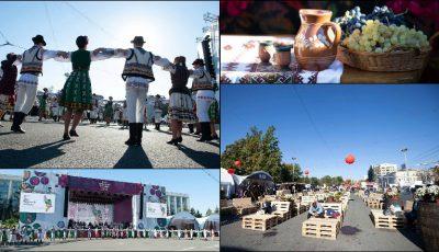 Moldovenii sărbătoresc Ziua Națională a Vinului! Poze din PMAN