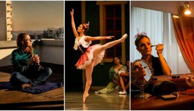 """Cum arată o zi din viața primei balerine a Teatrului Național de Operă și Balet """"Maria Bieșu""""!"""