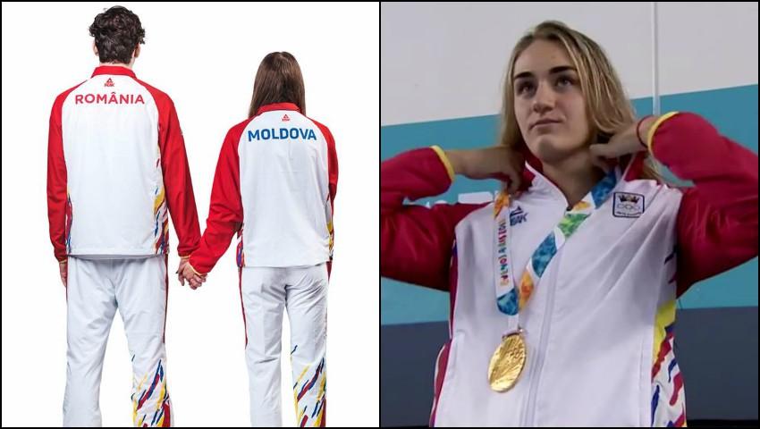 Foto: Sportivii României şi ai Republicii Moldova au concurat cu echipamente identice la Jocurile Olimpice de Tineret