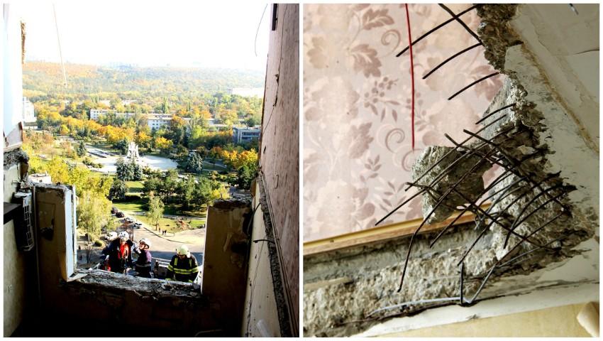 Foto: Video. Salvatorii au finalizat lucrările la etajele afectate de deflagrație