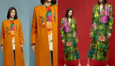 Designerul Irina Madan și-a lansat colecția de paltoane pictate manual la Fashion Week San Diego!