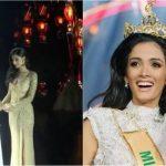 Foto: Video! Câștigătoarea titlului de frumusețe Miss Grand International 2018, a leșinat pe scenă în momentul încoronării