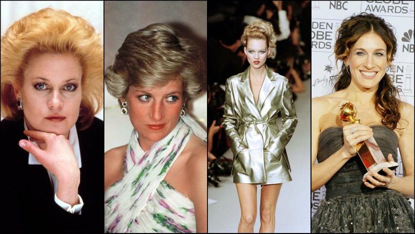 Foto: Ce tendințe de frumusețe urmau celebritățile în anul în care te-ai născut?