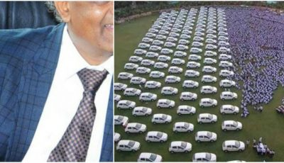 Antreprenorul care a făcut cadou angajaţilor săi 400 de apartamente şi peste 1.000 de maşini