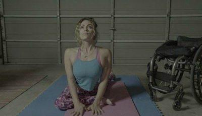 Lecția de voință a unei femei paralizate după accident, care a devenit un model de fitness de succes