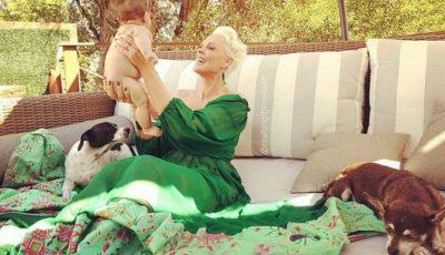 Brigitte Nielsen, mamă la 55 de ani. Actrița a realizat o ședință foto cu fiica ei