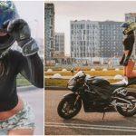 Foto: Olga Petrova, cea mai sexy motociclistă din lume, a murit la 22 de ani în urma unui groaznic accident
