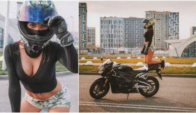 Olga Petrova, cea mai sexy motociclistă din lume, a murit la 22 de ani în urma unui groaznic accident