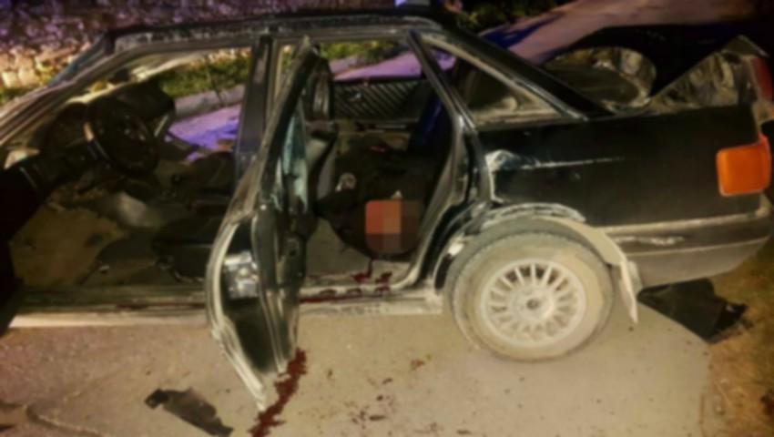 Foto: Accident înfiorător la Orhei. Patru tineri au urcat beți în mașină: unul dintre ei a decedat pe loc