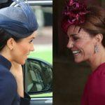 Foto: Cum s-au îmbrăcat Kate Middleton și Meghan Markle la nunta Prințesei Eugenie