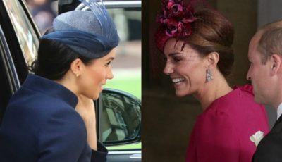 Cum s-au îmbrăcat Kate Middleton și Meghan Markle la nunta Prințesei Eugenie