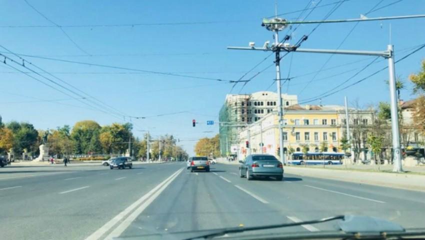 Foto: Străzile Capitalei au devenit pustii, după vizita președintelui turc. Foto