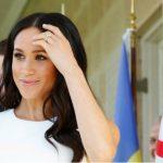 Foto: Apariție de senzație în turneul din Australia! Meghan Markle și-a pus în evidență sarcina, într-o rochie mulată de culoare albă