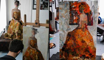 """Lucrarea unui elev al Liceului Academic de Arte Plastice """"Igor Vieru"""" din Chișinău a ajuns în colecția Vaticanului"""