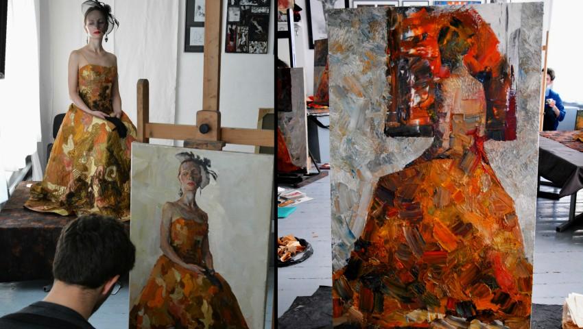 """Foto: Lucrarea unui elev al Liceului Academic de Arte Plastice """"Igor Vieru"""" din Chișinău a ajuns în colecția Vaticanului"""